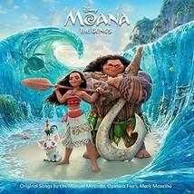 Moana: The Songs Original Soundtrack - $15.54