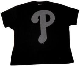 Men's Big Philadelphia Phillies Shirt MLB Baseball Tee T-Shirt Bling Logo - $19.79