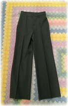 Vintage 1980 Levi Bend Over Polyester Pants Women's Size 10 28/32 NOS USA made - $15.19