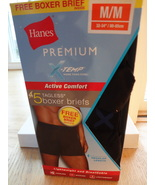 HANES PREMIUM X-TEMP ACTIVE COMFORT TAGLESS BOX... - $19.99