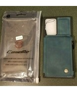 For Samsung Note 20/Note 20 Ultra - CaseMe Retro Green, Wallet, phone case - $9.79