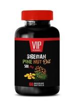 cholesterol support - Pine Nut Oil 500mg - lower blood pressure 1 Bottle - $13.98