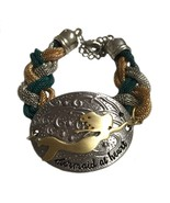 Handmade Braided Chain Mermaid At Heart Nautcal Beach Lover Bracelet - $24.70