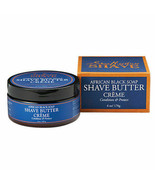 Shea Moisture African Black Soap & Butter Shave Cream for Men, 6 Ounce - $8.00
