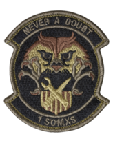1st Special Operations Maintenance Squadron Scorpion Patch With HOOK CLOSURE - $18.79