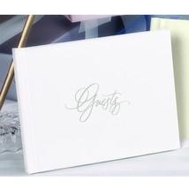 White Foil Guest Book - $40.95