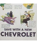 1933 Saturday Evening Post Chevrolet Print Ad 15 Ways To Please Your Wife - $15.75