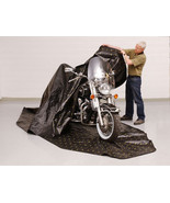 Zerust 145 in x 70 in Motorcycle Storage Cover with Soft Lining - $143.69