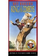 King of the Cowboys Roy Rogers VHS new never opened - $0.25