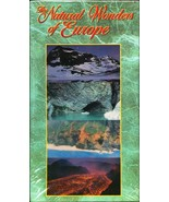 Natural Wonders of Europe VHS new never opened - $0.25