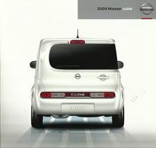 2009 Nissan CUBE sales brochure catalog US 09 1.8 S SL Krom - $9.00