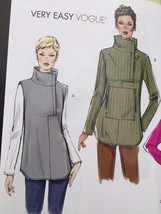 Vogue Sewing Pattern 8854 Ladies Misses Tunic Size L-XXL New - $17.89