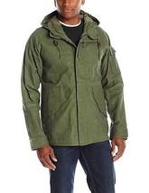 Alpha Industries Men's ECWCS W3X WAX Shell Jacket 2XL XXL M-65 OLIVE GREEN NEW - $126.21