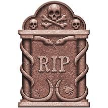 Creepy Cemetery Halloween Party Spooky Snakes and Skull Tombstone Decora... - $401,29 MXN