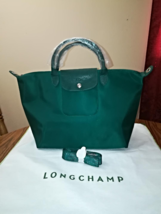 LONGCHAMP Le Pliage Medium Series NEO Moss Green - SOLD - $100.00