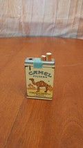 Vintage CAMEL Collectible Lighter, White    TOTE 5 - $4.94