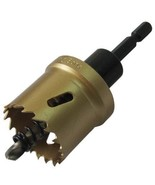 WINNINGBORE 34mm Bimetal Metal/Plastic/Wood Hole Saw Cutter Bit - $39.98
