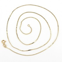 """Delicate 20"""" 14K Solid Yellow Gold 1mm Serpentine Link Chain Necklace 1.... - $119.99"""