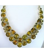 Geometric Lemon Topaz Kaleidoscope faceted Ster... - $323.52