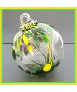 "Hanging Glass Ball 3"" Diameter ""Southern Tree"" Witch Ball (1) 3IN#29 - $15.84"