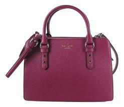 Kate Spade Mulberry Street Lise Leather Satchel Shoulder Bag Rioja New N... - $163.65