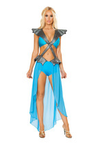Roma Mother Of Dragons Game Of Thrones Daenerys Khaleesi Halloween Costu... - $80.00