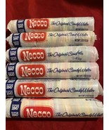 New 6 Rolls Necco Wafers Original Assorted Candy Rare Vintage EXP- 8/23-11/23 - $25.73