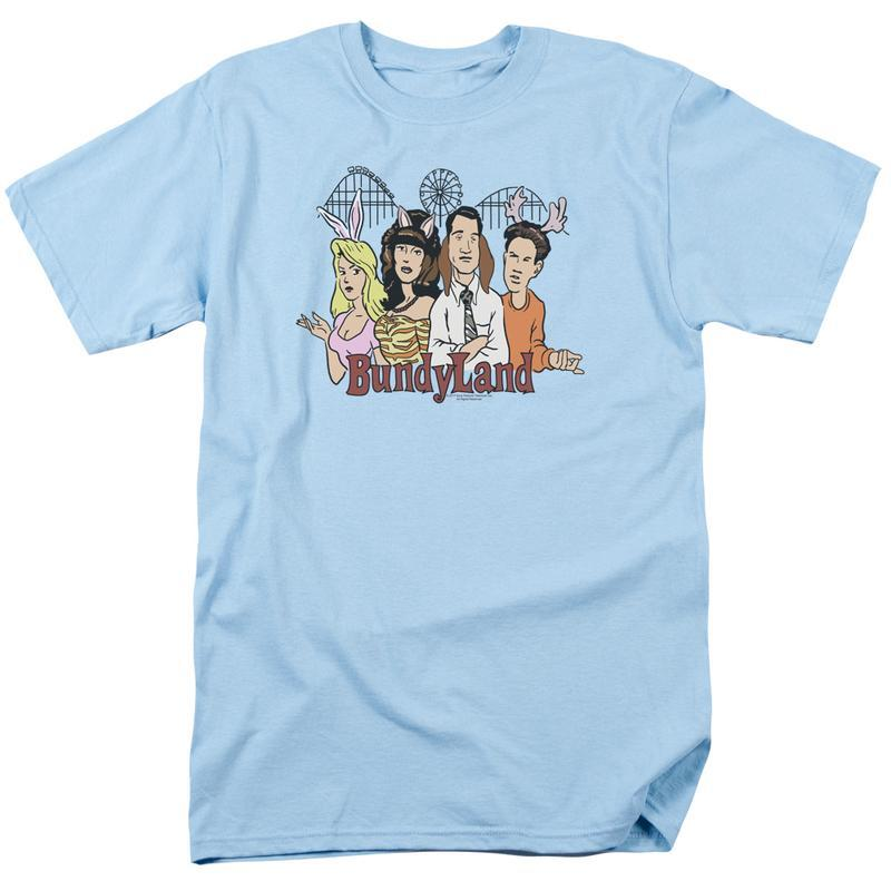 Retro 80 s tv comedy the bundy family tv sitcom for sale online graphic t shirt sonyt243 at 800x