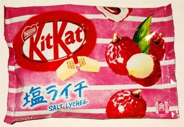 Kitkat Special Japanese Edition Salt Lychee 4.5 oz Bag of Chocolate Candies - $19.75