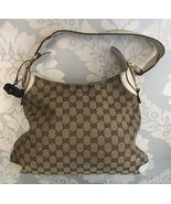 GUCCI Brown Monogram Creole Hobo $995 - $442.65
