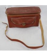 Vintage Enger-Kress Genuine Leather Camera Bag WW2 Era Pouch Purse Shoulder - $14.99