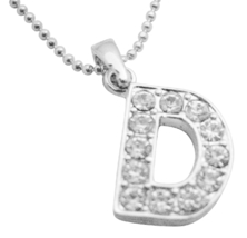 Cheap Jewelry Buy Your Name Pendant Start Letter D Sparkling Pendant - $9.48