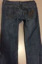 Juicy Couture Jeans Girls Size 24 Distressed Boot Cut image 7