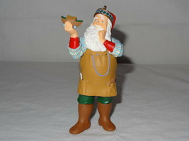 1999 Hallmark Ornaments Toymakers Gift Series Santa Keepsake Collectors Club image 2