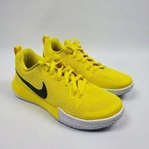 Nike Men Zoom Live 2 AJ7721 702 Basketball Shoes Yellow White Size 8  - $89.95