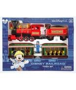disney mickey & friends walt disney world railroad train playset new wit... - $133.64