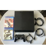 Sony PlayStation 4 Fat Mode 500GB Console, 1 Wireless Controller, Plus 2... - $210.65