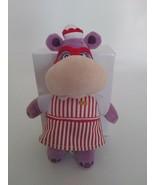 "Disney HALLIE the HIPPO HIPPOPOTAMUS Doc McStuffins plush stuffed animal 8"" - $7.69"
