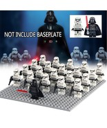 21pcs/set Star Wars A New Hope Darth Vader and Stormtroopers army Minifi... - $29.95