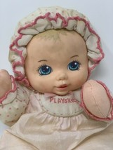 """Playskool My Very Soft Baby Doll 1993 with Squeaker 11"""" Light Pink 5132 ... - $9.90"""
