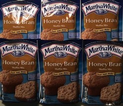 Martha White Muffin Mix Honey Bran 7.4 ounce (Pack of 6)  - $15.88