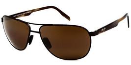 Maui Jim Castles  Sunglasses H728-01M Matte Chocolate Frame, HCL Bronze ... - $257.35