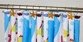 12 Confezione di Stella Marina Granchio Whale Fatti a Mano Tenda Doccia ... - $18.18