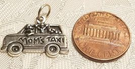 Mom's Taxi Sterling Silver Charm  STAMPED .925 image 3