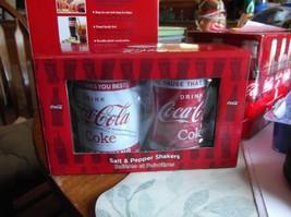 Coca Cola Salt & Pepper Shakers - $18.69