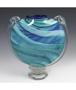 Rosetree M&M Art Glass Vase - $395.00