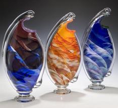 Rosetree Dancer Art Glass Vase - $460.00