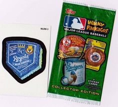 "2016 Wacky Packages Baseball Series 1 ""Kc Royals Cheese"" Promo Sticker MLBW-3 - $1.00"