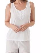 Velrose Lingerie Cotton Knit Lace Camisole Style 1529 - $11.83+