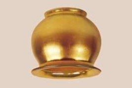 Art Glass Favrile Gold Blue Tiffany Steuben Type  Cherry Blo - $128.00